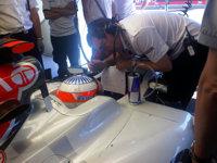 Narain Karthikeyan, HRT, GP Monaco, 2011 preparado