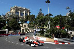 Narain Karthikeyan, HRT, GP Monaco, F1, 2011 Casino - Loews