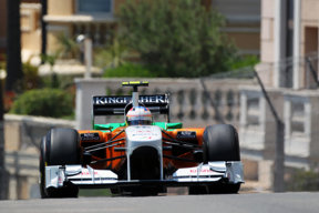 Paul Di Resta, Force India F1 Team, GP Monaco, 2011 Massenet