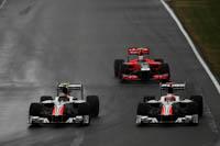 Vitantonio Liuzzi, Narain Karthikeyan, HRT, GP de Canadá, Formula 1, 2011. Carrera