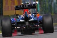 Difusor trasero, Red Bull Racing, Fórmula 1, 2011.