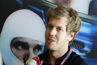 Sebastian Vettel, RBR, GP Europa 2011. Formula 1. Viernes
