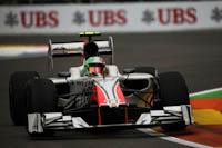 Vitantonio Liuzzi, HRT, GP Europa 2011. Fórmula 1. Viernes