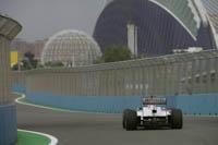 Sergio Perez, Sauber F1, GP Europa 2011. Fórmula 1. Viernes