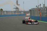 Fernando Alonso, Scuderia Ferrari, GP Europa 2011. Fórmula 1. Viernes Después del puente