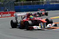 Felipe Massa, Scuderia Ferrari, GP Europa 2011. Fórmula 1. Domingo. Carrera. Hamilton.