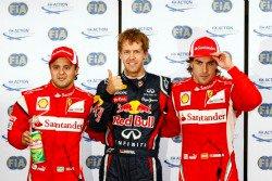 Sebastian Vettel, Fernando Alonso, Felipe Masa, Clasificación GP Canada 2011