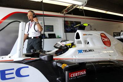 Pedro de la Rosa equipo Sauber F1 en el GP Canada Entren. libres 2