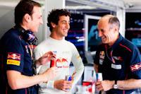 Franz Tost, Daniel Ricciardo, Scuderia Toro Rosso, GP Europa 2011. Fórmula 1. Jueves
