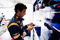 Daniel Ricciardo, Scuderia Toro Rosso, GP Europa 2011. Fórmula 1. Jueves