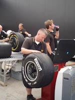 Pirelli, GP Europa 2011, Fórmula 1. Jueves