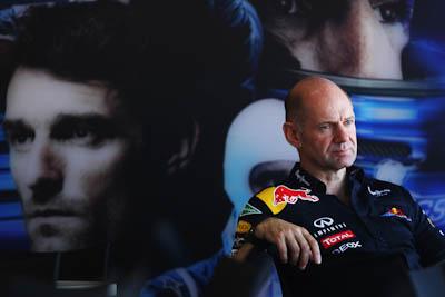 Adrian Newey, Red Bull Racing, GP Europa 2011. Fórmula 1. Sábado, hospitality