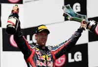 Sebastian Vettel, Red Bull Racing, GP Europa 2011. Formula 1. Domingo, carrera,