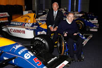 Frank Williams, Bernard Rey, AT&T Williams, Renault Sport F1, Announcement, Conference Centre. Fórmula 1. 2011.