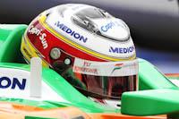 Adrian Sutil, Force India F1, GP Europa, 2011. Fórmula 1. GP08. Entrenamientos Libres.