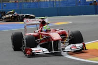 Felipe Massa, Scuderia Ferrari, GP Europa, 2011. Formula 1. GP08. Entrenamientos Libres