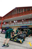 Jarno Trulli, Team Lotus Renault, GP Europa, 2011. Fórmula 1. GP08. Entrenamientos Libres.
