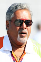 Vijay Mallya, Force India F1, GP Europa, 2011. Fórmula 1. GP08. Entrenamientos Libres.