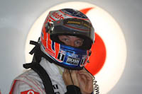 Jenson Button, Vodafone McLaren Mercedes, GP Europa, 2011. Formula 1. GP08. Preparacion, Carrera