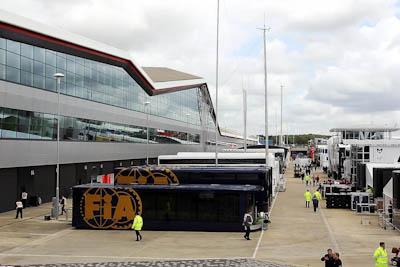 FIA Trucks, GP Gran Bretaña, 2011. Formula 1. GP09. Viernes