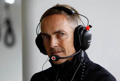 Martin Whitmarsh, Vodafone McLaren Mercedes, GP Gran Bretaña, 2011. Formula 1. GP09. Viernes