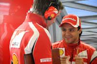 Felipe Massa, Scuderia Ferrari, GP Gran Bretaña, 2011. Formula 1. GP09. Previo Carrera