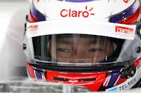 Kamui Kobayashi, Sauber F1, GP Gran Bretaña, 2011. Formula 1. GP09. Entre. Libres, concentracion