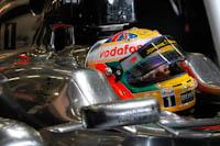 Lewis Hamilton, Vodafone McLaren Mercedes, GP Gran Bretaña, 2011. Formula 1. GP09. Clasificacion, concentracion