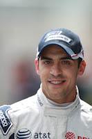 Pastor Maldonado, ATT Williams, GP Gran Bretaña, 2011. Formula 1. GP09. Sabado, paddock