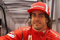 Fernando Alonso, Scuderia Ferrari, GP Gran Bretaña, 2011. Formula 1. GP09. Entre. Libres, sonrisa