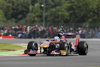 Jaime Alguersuari, Scuderia Toro Rosso, GP Gran Bretaña, 2011. Formula 1. GP09. Clasificacion, 18
