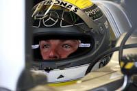 Nico Rosberg, Mercedes GP Petronas, GP Gran Bretaña, 2011. Formula 1. GP09. Entre. Libres, concentracion