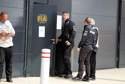 Ross Brawn, Mercedes GP Petronas, GP Gran Bretaña, 2011. Formula 1. GP09. Reunion FIA