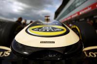 Morro con logo, Team Lotus Renault, GP Gran Bretaña, 2011. Formula 1. GP09