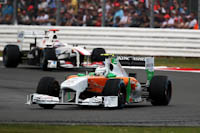 Paul di Resta, Force India F1, GP Gran Bretaña, 2011. Formula 1. GP09. Carrera