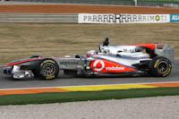 Gary Paffett, Vodafone McLaren Mercedes, Circuit Cheste, Valencia. Entrenamientos Oficiales. Fórmula 1.